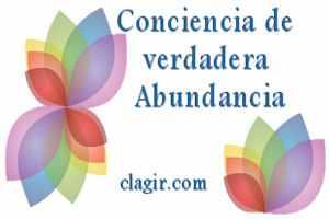 conciencia de verdadera abundancia