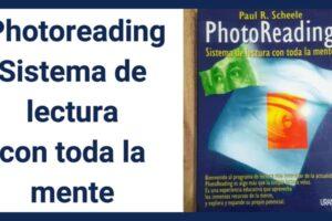 PhotoReading Sistema de lectura con toda la mente