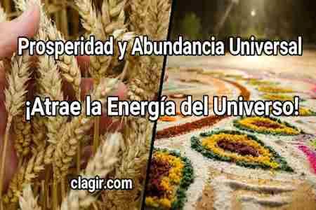 Prosperidad y Abundancia Universal ¡Atrae la Energía del Universo!