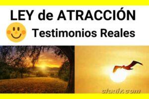ley de atracción testimonios reales